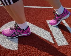 Training und Laufschuhe Test